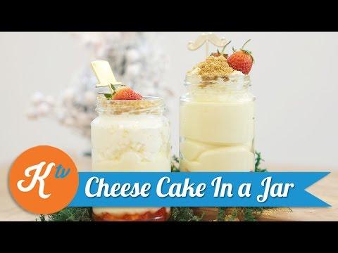 Video Resep Cheese Cake In a Jar | Savira Pradiati