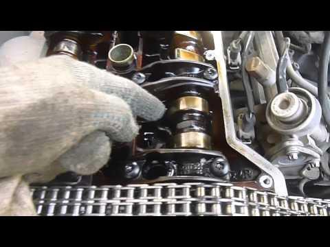 Фото к видео: Замена цепи грм 111 двигатель