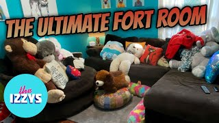 We Make The Ultimate FORT ROOM!!