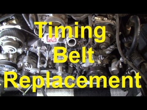Фото к видео: How To Change The Timing Belt In A Toyota V8 2UZ-FE / 3UZ-FE Tundra Sequoia LS430