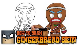 How to Draw Fortnite   Gingerbread Skin