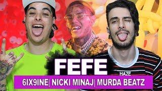 "6ix9ine, Nicki Minaj, Murda Beatz - ""FEFE"" (Official Music Video) | REACT / ANÁLISE INTERNACIONAL"