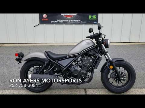 2018 Honda Rebel 500 in Greenville, North Carolina - Video 1