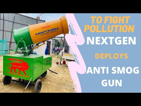 Smog Gun Machine