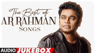 Best of AR Rahman Songs | #HappyBirthdayARRahman | Audio Jukebox 2018 | Hindi Songs | T-Series