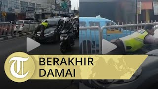 Viral Polisi Nemplok Mobil, Tavipuddin Nangis Minta Maaf ke Bripka Eka