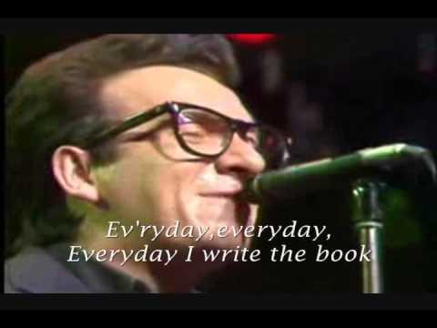 ELVIS COSTELLO - EVERYDAY I WRITE THE BOOK (Lyrics) JeffJianAvery
