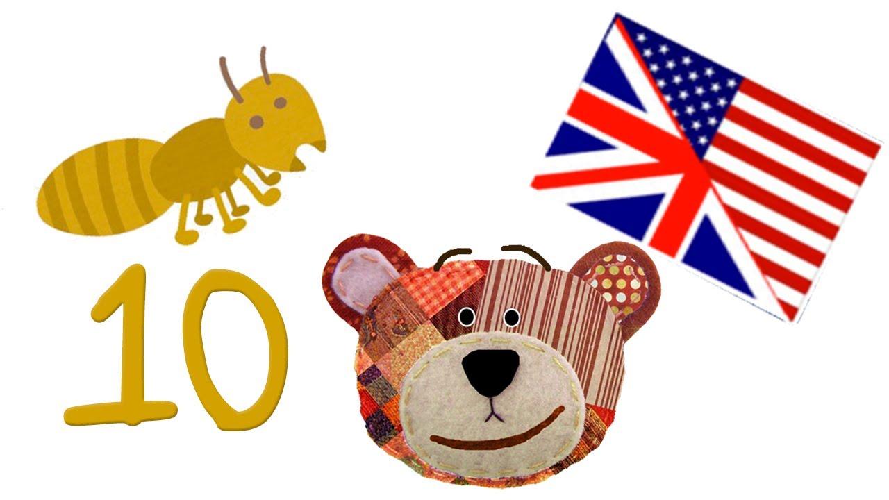 Los números en inglés - Del 1 al 10 para los niños