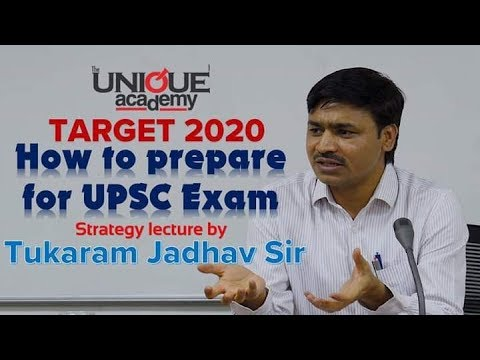 How to Prepare For UPSC Exam - Strategy Lecture by Tukaram Jadhav Sir | TARGET 2020