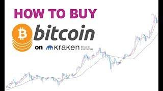This is how you buy Bitcoins on Kraken.com