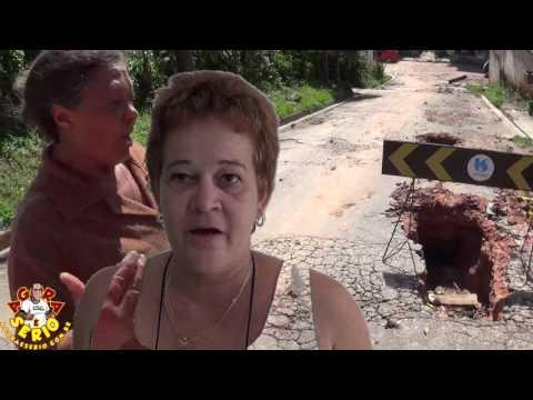 Mariah foi vítima do descaso da Sabesp caiu no buraco e processou a Sabesp