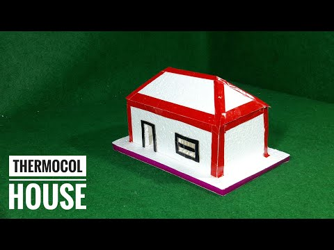 Download How To Make A Small Thermocol House Model School Best Video