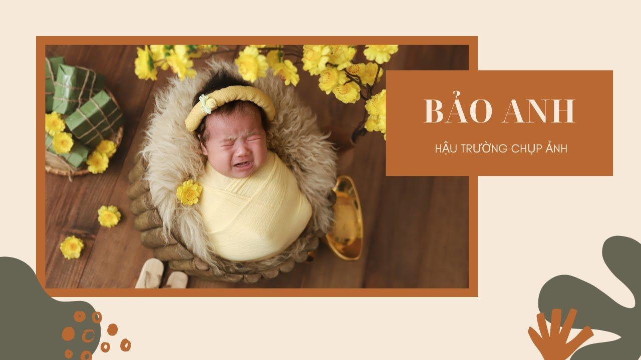 Hậu Trường Chụp Ảnh BẢO ANH – XOÀI BABY – Chụp Ảnh Sơ Sinh Nha Trang
