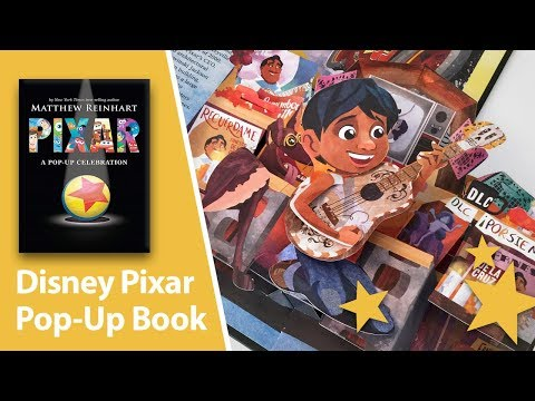 Disney Pixar Pop-Up Book By Matthew Reinhart