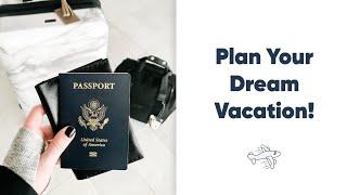 Plan Your Dream Vacation! | Notion, YNAB, Google My Maps