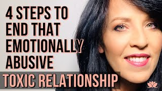 4 STEPS To Help You END That TOXIC CODEPENDENT RELATIONSHIP