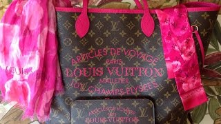 My Louis Vuitton Indian Rose Ikat Collection