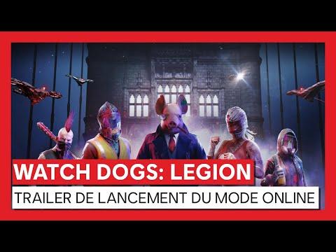 Watch Dogs Legion : Trailer de lancement du mode online