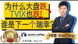0403【美股富豪直播 Home】为什么大盘跌,TVIX也跌?谁是下一个瑞幸?