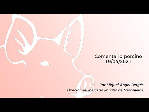 Comentario porcino - 19/04/2021