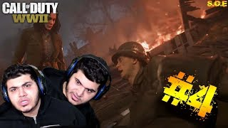 Call of Duty WW2 walkthrough gameplay Part #4 - S.O.E - WTF IS GOING ON!!