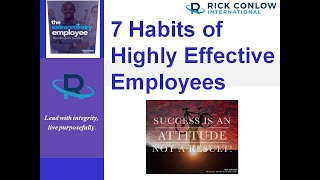 7 Habits of Highly Effective Employees