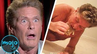 Top 10 Embarrassing Celebrity Moments Caught On Camera