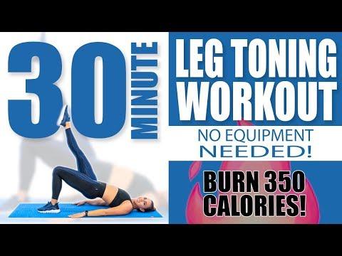 30분동안 350칼로리 불태우는 다리 운동