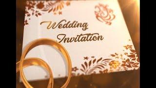 Whatsapp Wedding Invitation Latest 2020 | Wedding Invitation | Whatsapp Invitation #1