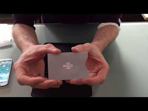 NFC Schutzhülle - Kreditkarten, EC-Karten, Personalausweis vor dem Auslesen mit Smartphones schützen