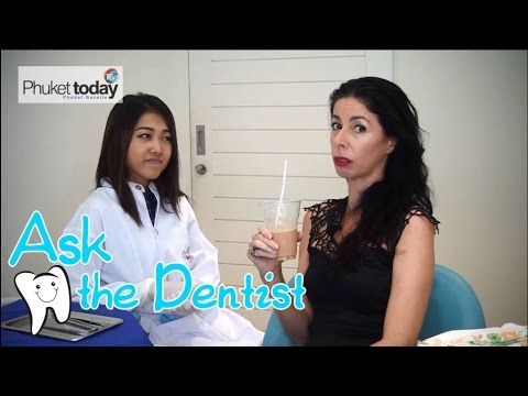 Ask the Dentist - the coffee stain question