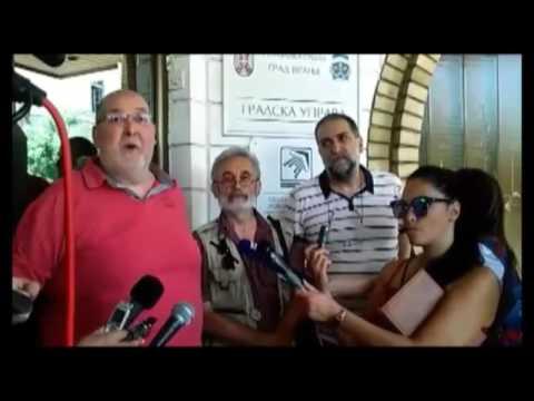 Protest novinara zbog konkursa za informisanje u Vranju