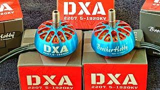 ✅ Необычные Моторы для FPV Дрона BrotherHobby DXA 2207.5 1920KV Возьмут 2КГ? ????