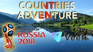 360 VR World Tour From Top National Teams - World Cup 2018