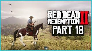 Red Dead Redemption 2 Walkthrough Part 18 - A Fine Night Of Debauchery   PS4 Pro Gameplay
