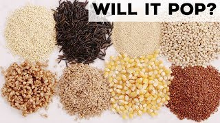 Will It Pop? Grains, Seeds and Cereals Are Put to the Test | Food Network