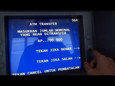 Cara transfer lewat ATM dari BRI ke BCA