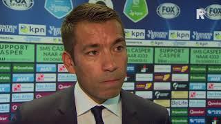 Van Bronckhorst over de wedstrijd tegen Excelsior