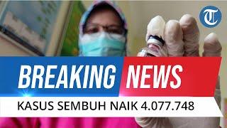BREAKING NEWS Update Corona Indonesia 20 Oktober 2021: Kasus Sembuh Makin Naik Jadi 4.077.748