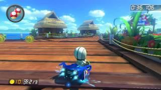 DS Cheep Cheep Beach - 1:44.286 - Tsu*ru (Mario Kart 8 World Record)
