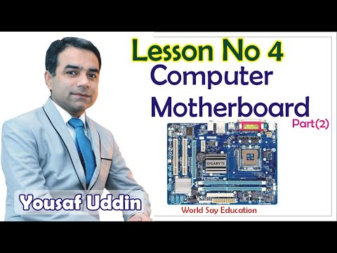 Computer Hardware Course Lessons 4   Computer Part   Free ...