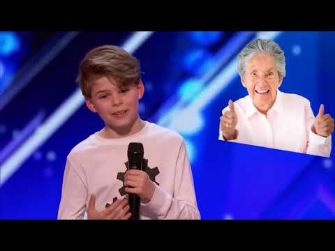Kid dances to Gucci Gang on Americas got talent!