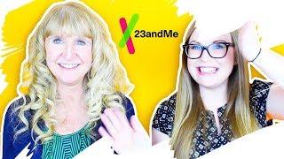 I took a DNA test with my mom! 23andMe results | parejeda