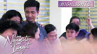 Ruth and the house helpers show support to Michael | Nang Ngumiti Ang Langit (With Eng Subs)
