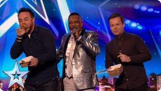 Preview: Audley Buckle's chicken and chips song is finger lickin' good | Britain's Got Talent 2017