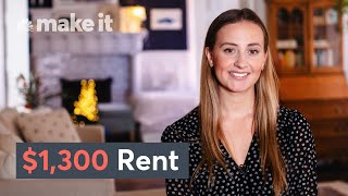 Living In A $1,300/Month Apartment In NYC | Unlocked