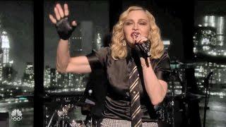 Madonna Borderline New 2016 Version on The Tonight Show (Lyrics)