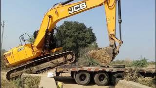 New jcb poclain 210 loading on track