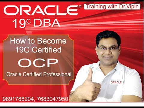 How to Become Oracle 19C 2019 DBA OCP - YouTube