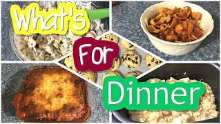 Whats For Dinner || Easy Summer Dinner Ideas || Easiest Cookie Recipe